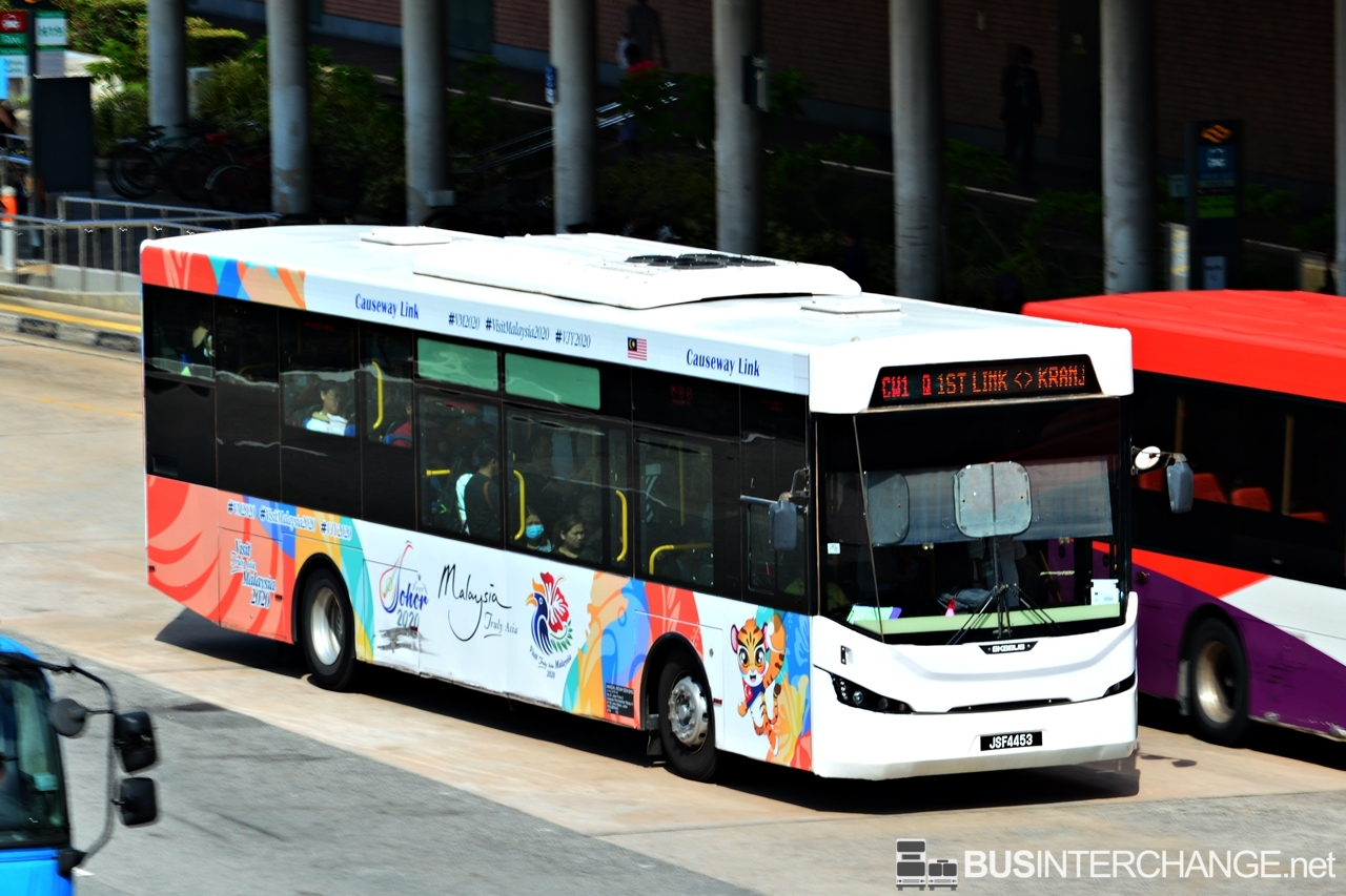 A Sksbus LEC-300H (JSF4453) operating on Causeway Link bus service CW1