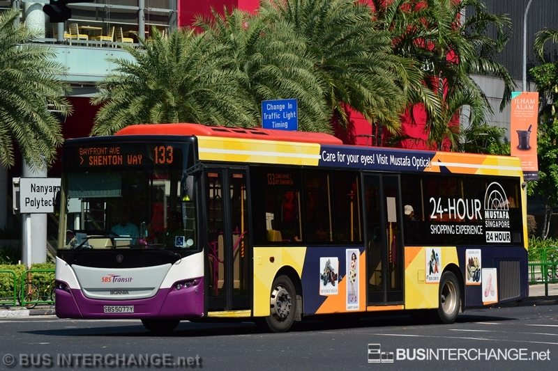 SBS5077Y / Scania K230UB (Gemilang Coachworks) / SBS Transit   Bus
