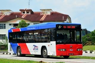 Bas Muafakat Johor P203 bus