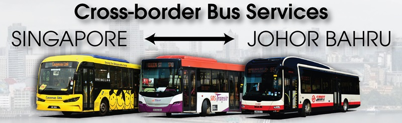Cross-border buses from Singapore to Johor Bahru