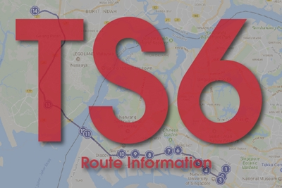 TS6 Route Map