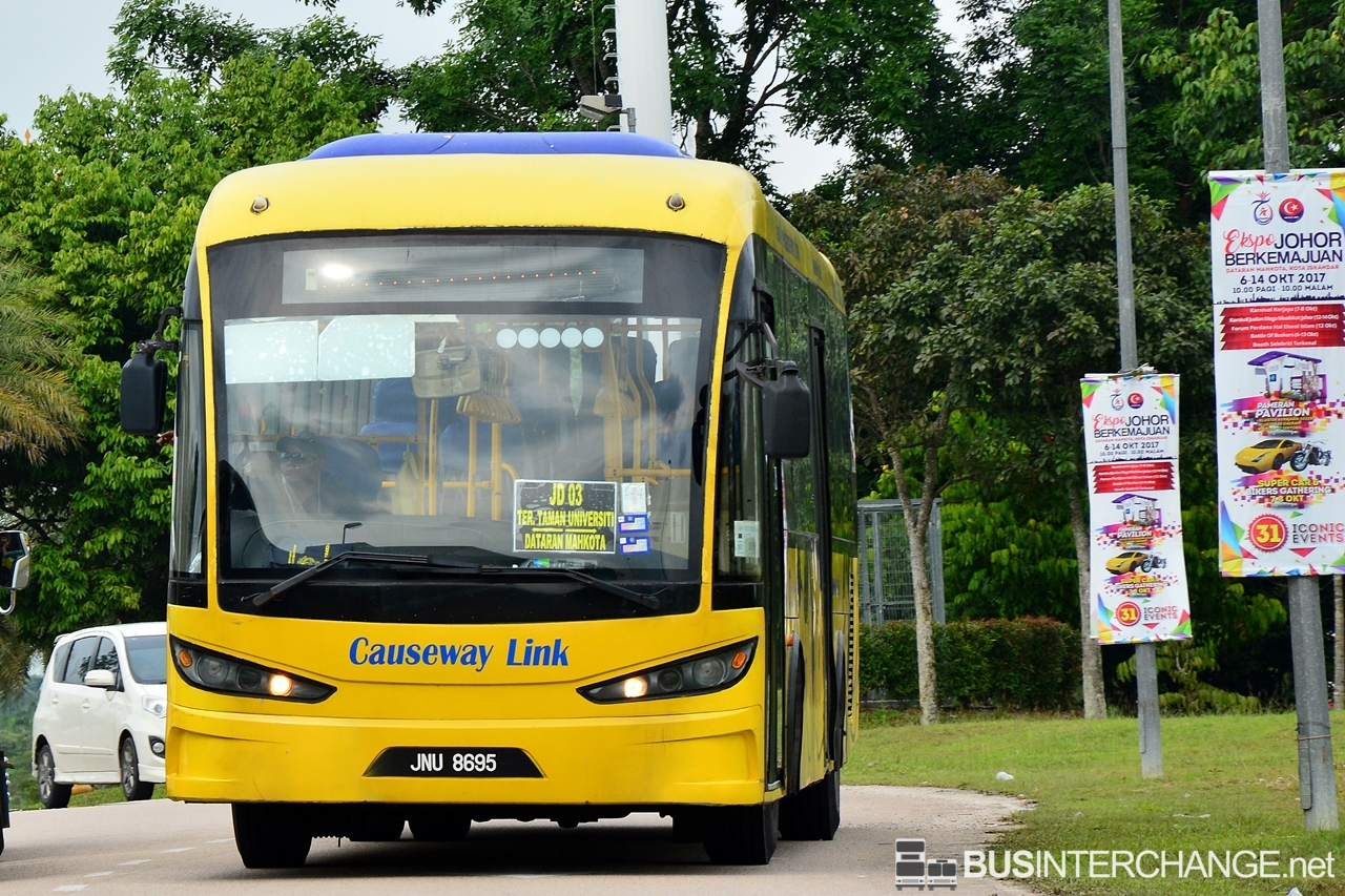 Shuttle buses to Progressive Johor Expo are operated by Causeway Link.