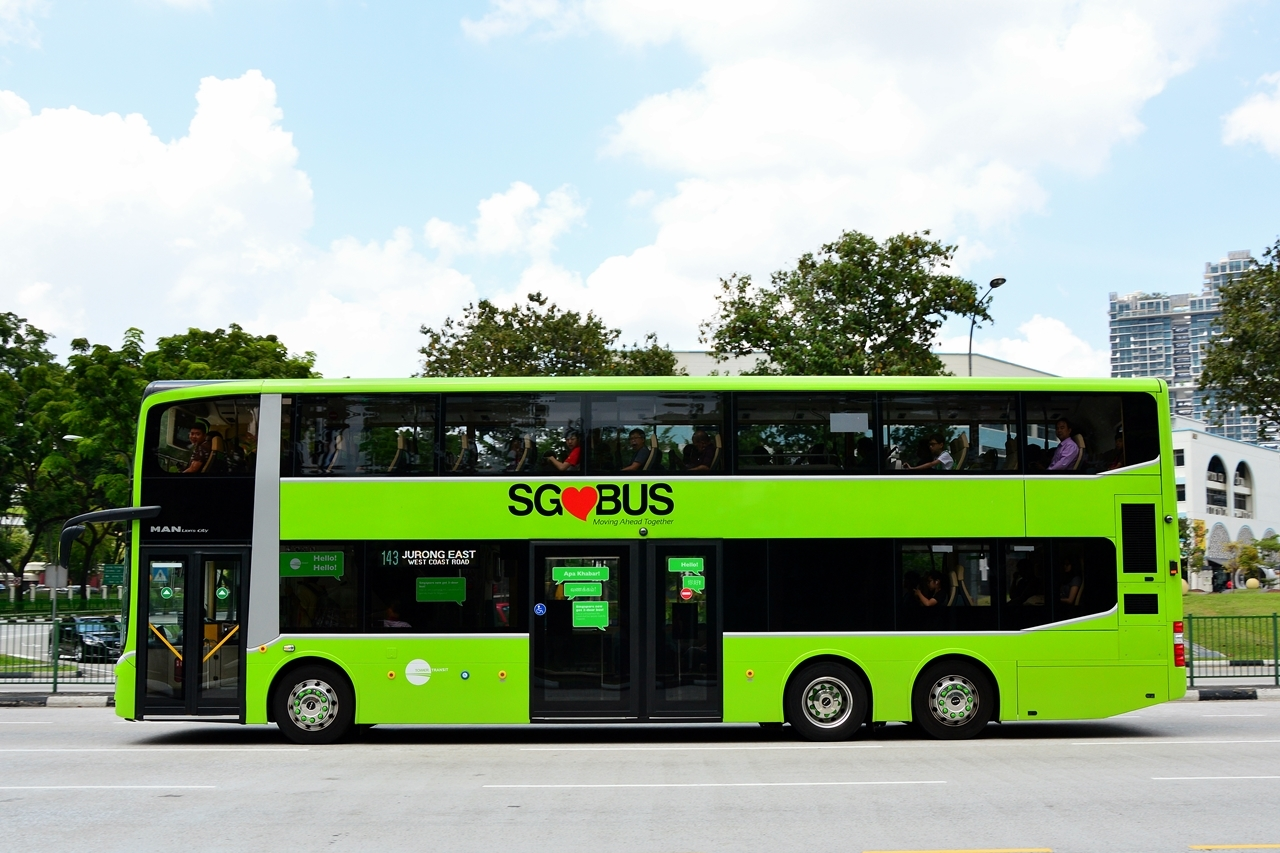 File Photo: Tower Transit bus in SG Bus livery