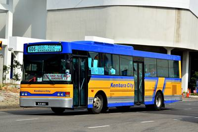 A Kembara City second-handed bus purchased from Metrobus Nationwide.