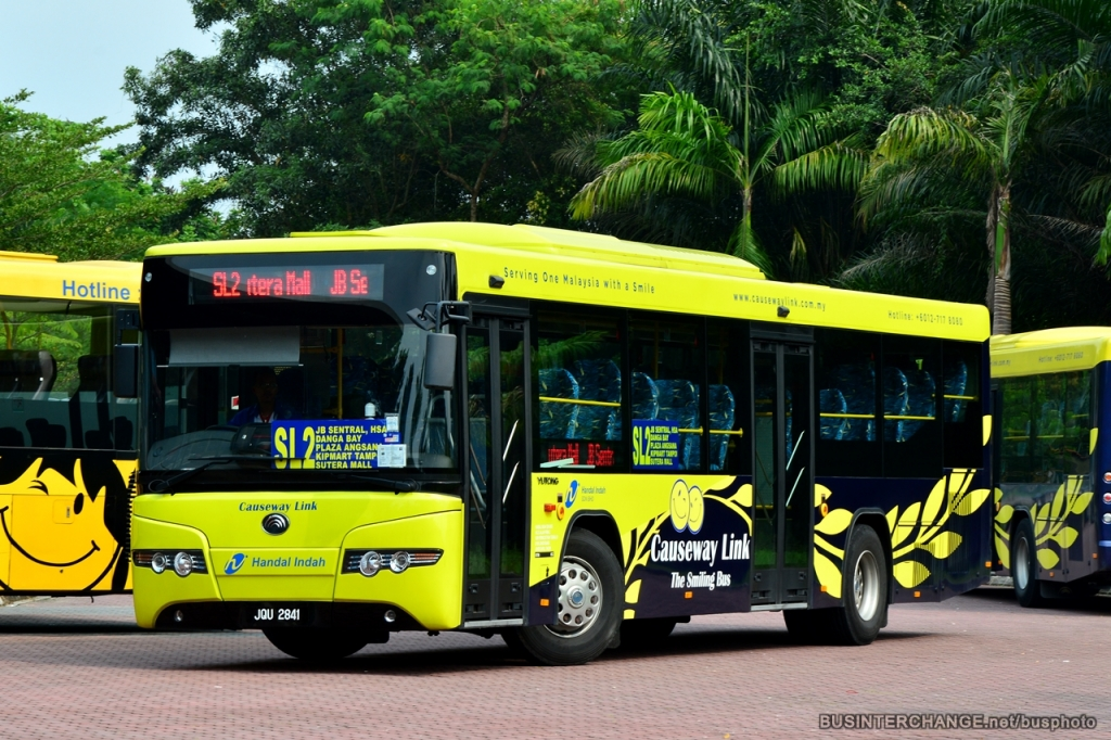 Causeway Link SL2 Bus at Sutera Mall Terminal.